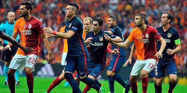 G.Saray - Atletico maçı iptal