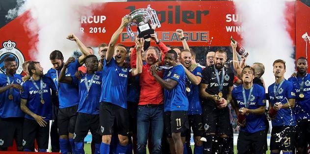 Belçika Süper Kupası Club Brugge'ün