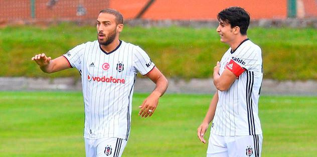 Beşiktaş formasıyla...