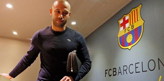 Mascherano, 3 yıl daha Barcelona'da