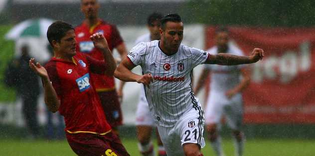 Beşiktaş'a yağmur engeli
