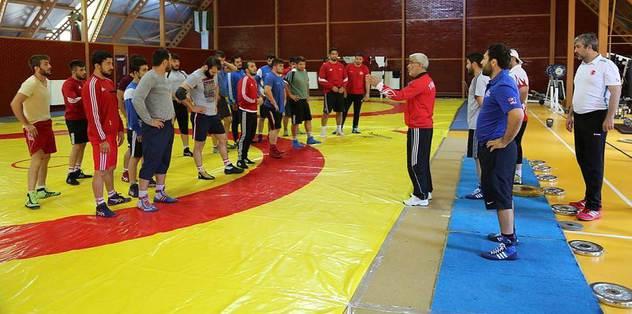 Güreşte Rio için son kamplar başladı