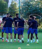 Trabzonspor'da keyifli idman