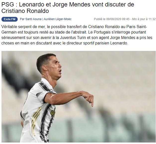yilin transfer iddiasi cristiano ronaldo 1596974912065 - Yılın transfer iddiası! Cristiano Ronaldo...