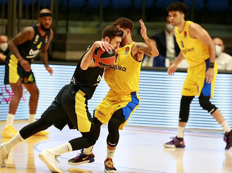 Maccabi Playtika Tel Aviv 65-75 Fenerbahçe Beko