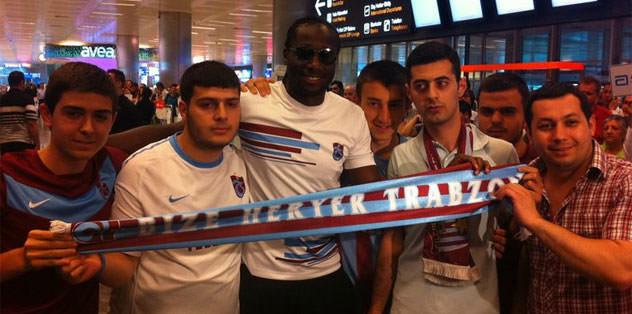 Trabzonspor Bamba'ya kavuştu