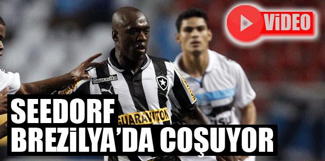 Seedorf Brezilya'da coşuyor