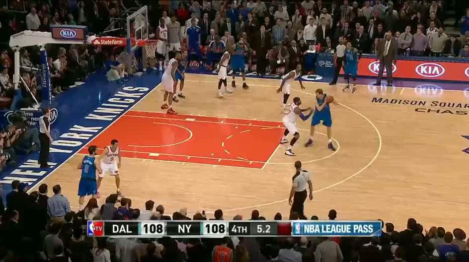 Nowitzki'den mucize basket