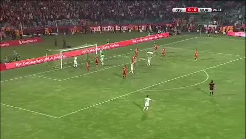 İşte Bursaspor'un golü