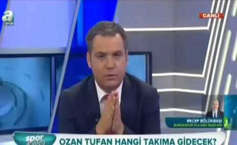 Bölükbaşı'ndan Ozan Tufan açıklaması