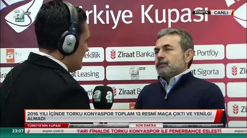 Aykut Kocaman canlı yayında açıkladı
