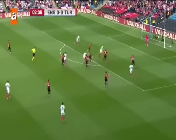 İngiltere 1-0 Türkiye