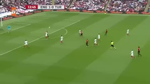 İngiltere 1-1 Türkiye