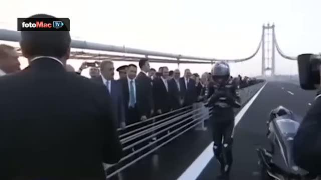 Cumhurbaşkanı Erdoğan'la Sofuoğlu arasındaki neşeli diyalog