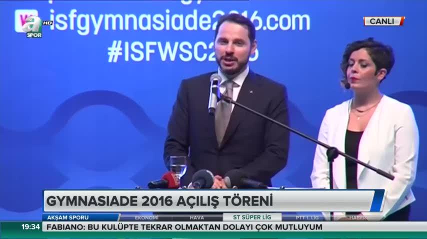 Berat Albayrak: Sporda büyük gelişim kaydettik