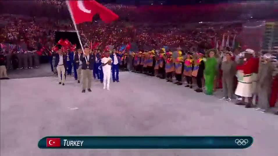 İşte Rio 2016 açılışında Türkiye kafilesi