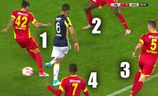 Asist Josef'ten gol Chahechouhe'den