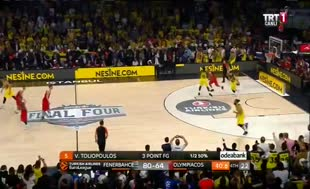 THY Euroleague şampiyonu Fenerbahçe