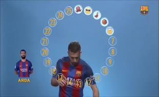 Barcelonalı futbolcuların gözünde Arda Turan…