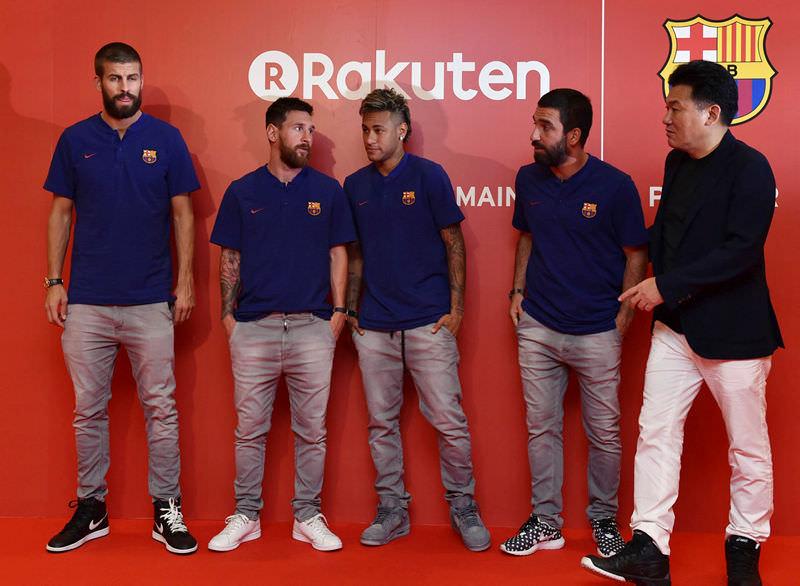 Messi bu kez çok farklı