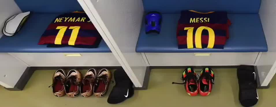 Messi, Neymar'a böyle veda etti