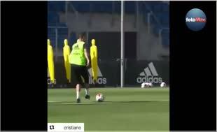 Ronaldo'dan idmanda şık gol