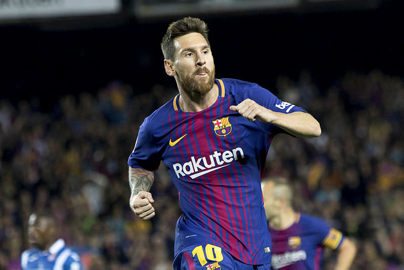 Messi'den piyano resitali