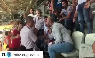 Başakşehir - Trabzonspor maçında skandal