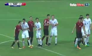 Ahmed Kutucu'nun Yeni Zelanda'ya attığı gol