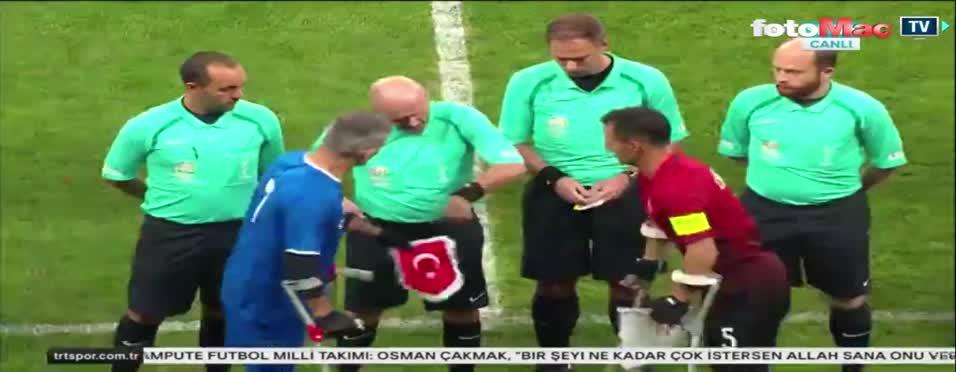 Ampute Türkiye - İngiltere Milli maçı özeti