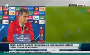 Şenol Güneş'ten Trabzonspor gafı