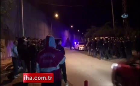 Trabzonspor taraftarı takıma tepki gösterdi
