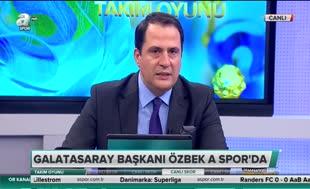 Dursun Özbek'ten derbi açıklaması