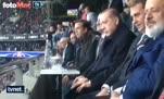 Cumhurbaşkanı Erdoğan, Cenk Tosun'un golüne böyle sevindi