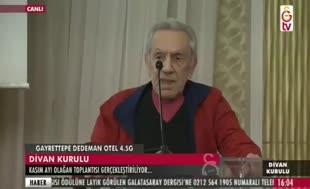 Aydemir Akbaş, Divan Kurulu'nu salladı!