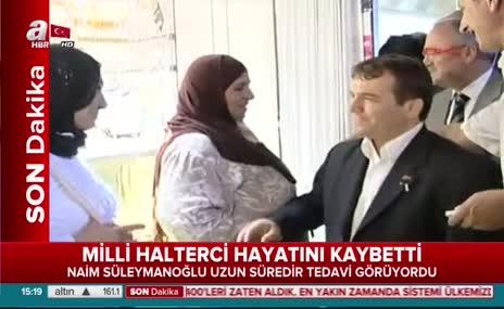 Erdoğan'dan Naim Süleymanoğlu açıklaması