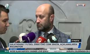 Cenk Ergün'den flaş açıklama