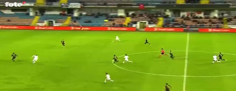 Janssen'den müthiş gol! | Türkiye Kupası