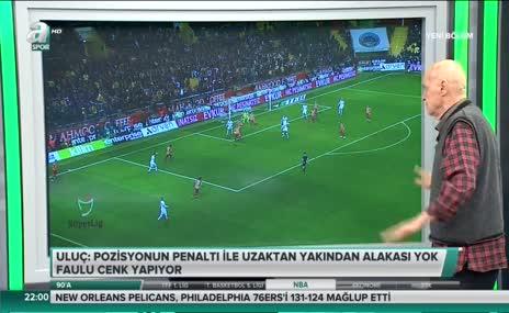 Hıncal Uluç: Penaltıyla uzaktan yakından alakası yok