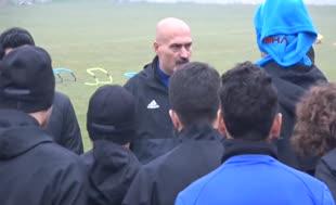 Karabükspor Teknik Direktörü takımı böyle motive etti