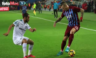 Trabzonspor - Bursaspor maçı özeti