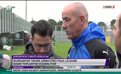 Le Guen'dan Galatasaray açıklaması