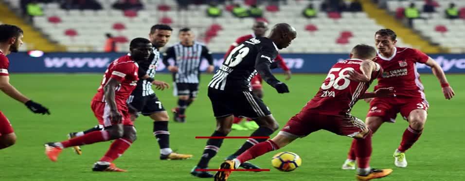Sivasspor - Beşiktaş maçı özeti