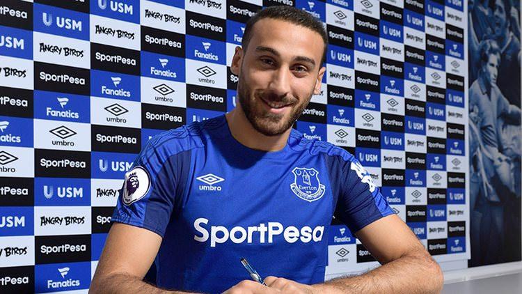 Everton Cenk Tosun transferini böyle duyurdu