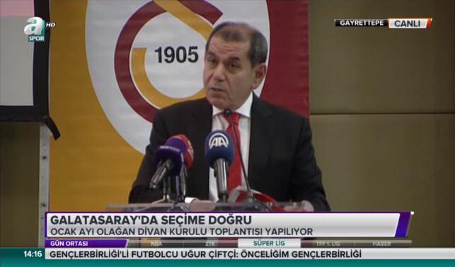 Dursun Özbek'ten Fatih Altaylı'ya sert sözler