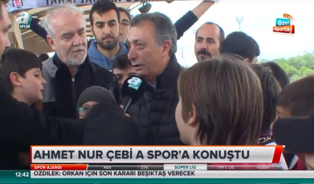 Ahmet Nur Çebi'den Larin açıklaması