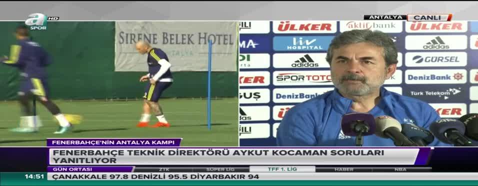 Aykut Kocaman'ın çok konuşulan görüntüsü