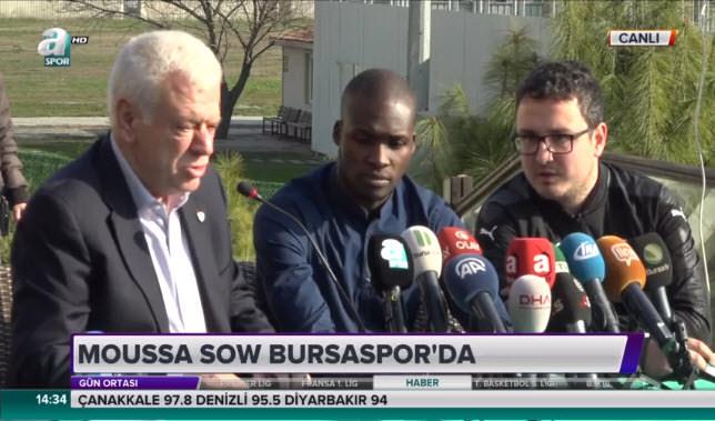 Moussa Sow imzayı attı