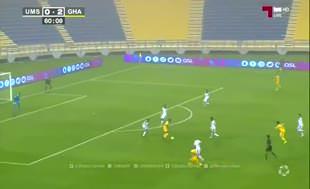 Sneijder, Katar'da ilk golünü attı