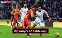 Kayserispor - Galatasaray maçı özeti
